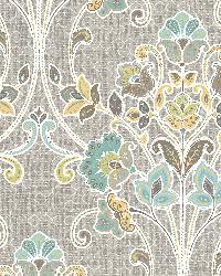 Willow Grey Nouveau Floral by