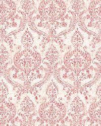 Waverly Red Petite Damask by