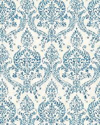 Waverly Indigo Petite Damask by