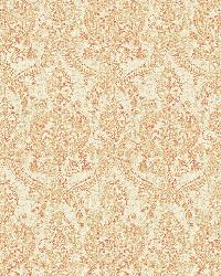 Waverly Rust Petite Damask by
