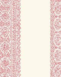 Brynn Pink Paisley Stripe by