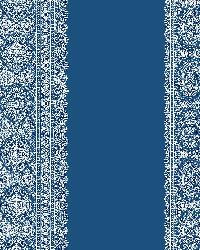 Brynn Indigo Paisley Stripe by