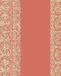 Brynn Coral Paisley Stripe by