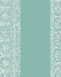 Brynn Turquoise Paisley Stripe by