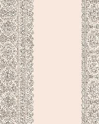 Brynn Grey Paisley Stripe by