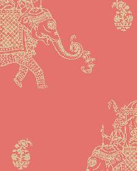 Ophelia Coral Elephant by