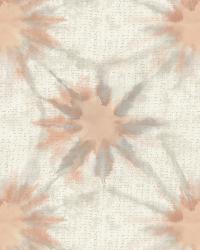 Iris Coral Shibori by