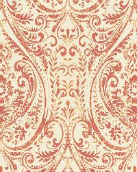 Gypsy Coral  Damask by