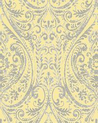 Gypsy Yellow  Damask by