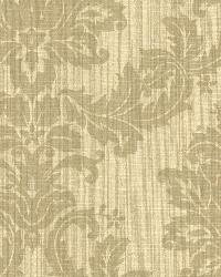 Everest Beige Woven Damask by