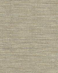Bellot Green Woven Texture by  Brewster Wallcovering