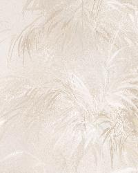 Kaley Cream Satin Leaves by