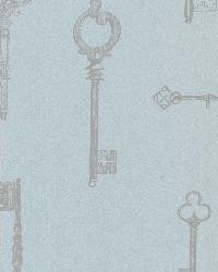 Addison Blue Vintage Keys by