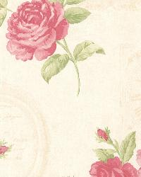 Venetia Pink Vintage Rose Toss by