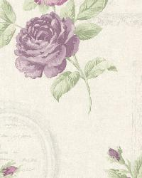 Venetia Violet Vintage Rose Toss by