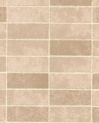 Hunter Sand Rectangle Tile  by  Brewster Wallcovering