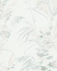 Tory Ivory Tropical Leaves by