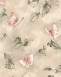 Aveline Pink Butterfly Trail by