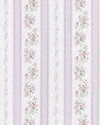 Merle Lavender Floral Stripe by