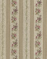 Merle Bronze Floral Stripe by