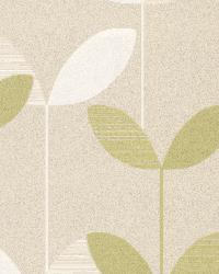 Ernst Light Green Linear Leaf by