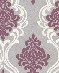 Indiana Purple Damask by