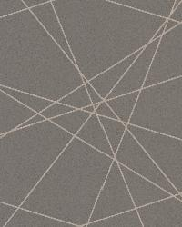 Magritte Brown Criss Cross Geo by