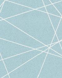 Magritte Light Blue Criss Cross Geo by