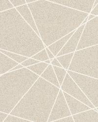 Magritte Beige Criss Cross Geo by