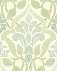 Fusion  Green Ombre Damask by