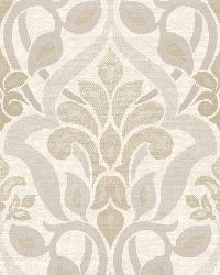 Fusion  Grey Ombre Damask by