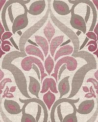 Fusion  Purple Ombre Damask by