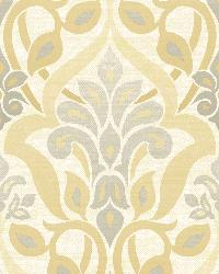 Fusion  Yellow Ombre Damask by