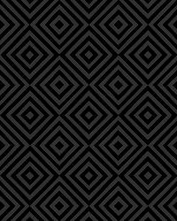 Metropolitan Black Geometric Diamond by
