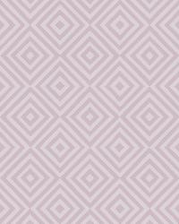 Metropolitan Lavender Geometric Diamond by