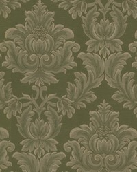 Oldham Green Damask  by