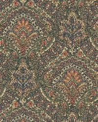 Cypress Sage Paisley Damask by