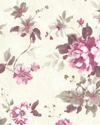 Eloise Maroon Floral  by