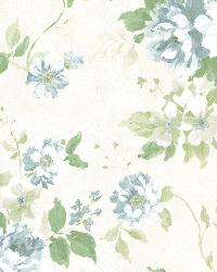 Eloise Blue Floral  by