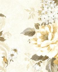 Alexandra  Yellow Scroll by