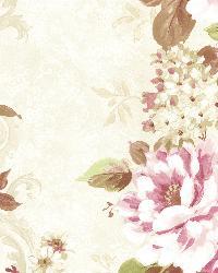 Alexandra  Pink Scroll by