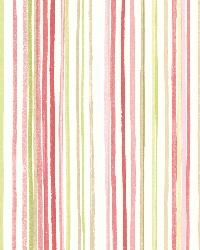Estelle Pink Watercolor Stripe by