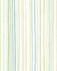 Estelle Blue Watercolor Stripe by  Brewster Wallcovering
