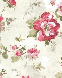 Amalia Magenta Floral Garden by
