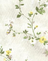 Isabella  Yellow Floral Trail by