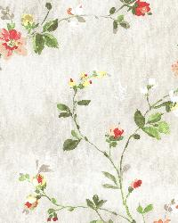 Isabella  Red Floral Trail by