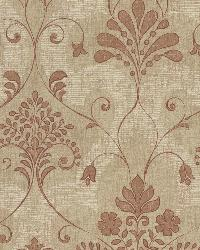 Andalusia Sienna Damask by