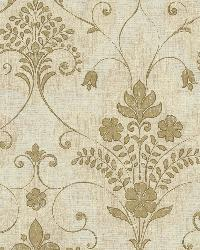 Andalusia Gold Damask by
