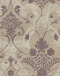 Andalusia Violet Damask by