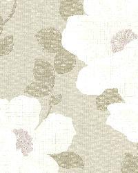 Leala Wheat Modern Floral by